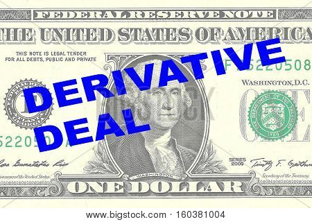 Derivative Deal Concept