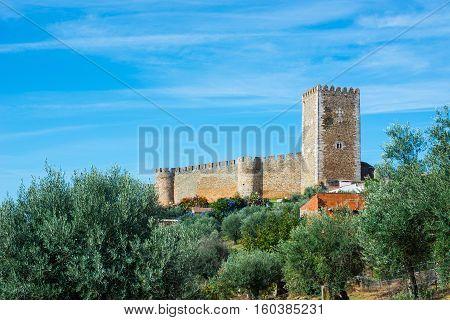 Castelo De Portel Castle. Alentejo, Portugal.