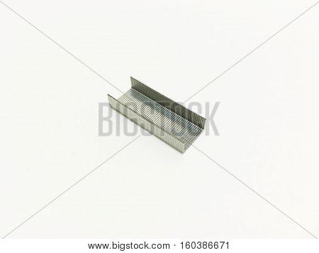 Magneto for the stapler on a white background.