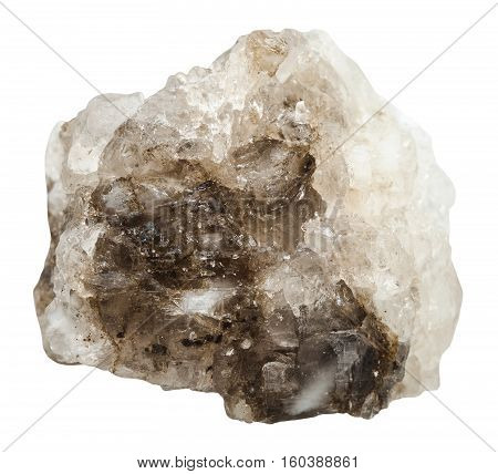 Crystalline Halite (rock Salt) Stone Isolated