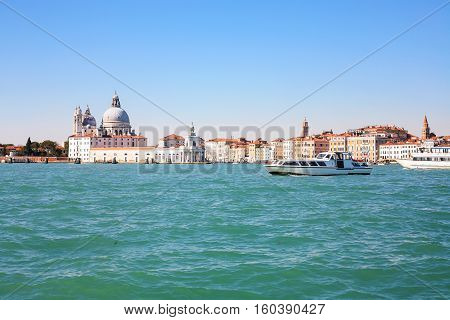 View Of Venice City From San Marco Basin