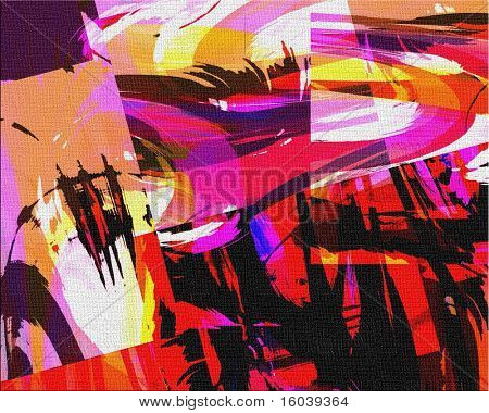 Hi-Res Abstract Painting