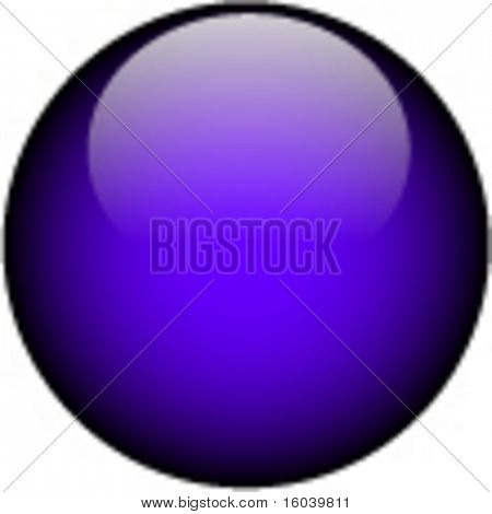 Vector Glass Button
