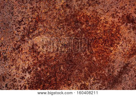 Grunge texture of rusty metal. Abstract background