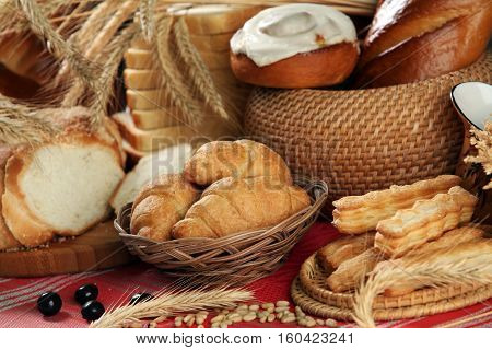 Pastry On The Table