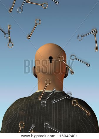 Keys fall - Open mind