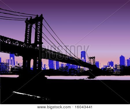 NYC and Bridge
