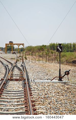 The turning point of the rails, urban, service, machinery, freight, wire, line,