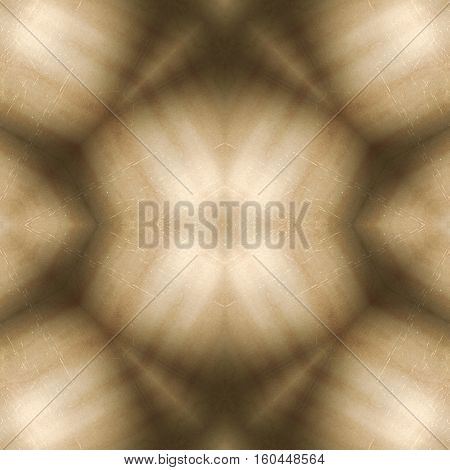 Abstract symmetry geometrical graphic beige background design