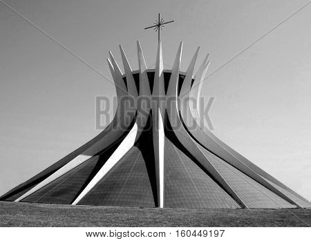 Catedral church from Brazil,s capital, Brasilia for clipping