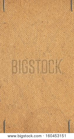 Brown Pressed Cardboard Background - Vertical