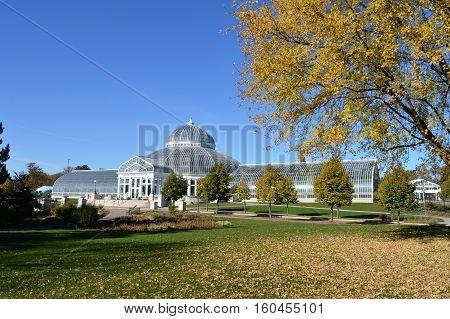The Como Conservatory in Saint Paul, Minnesota