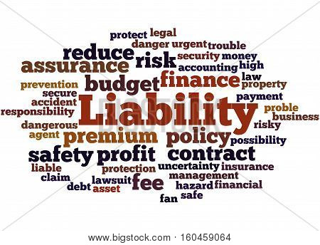 Liability, Word Cloud Concept 2