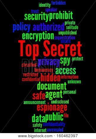 Top Secret, Word Cloud Concept 4