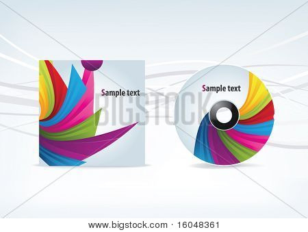 Business Design elements ( icon ) cd for print and web. vector