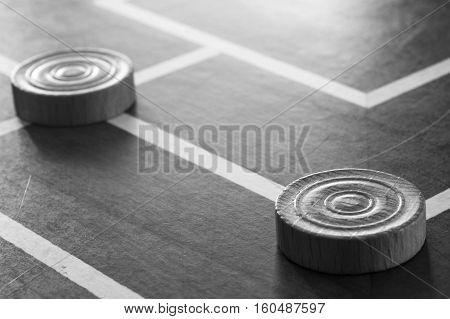 macro pawns of the Italian game of tris