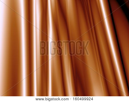 Abstract braun background luxury cloth or liquid wave of grunge silk texture satin velvet material or luxurious