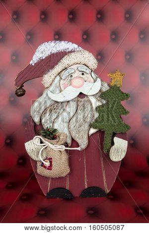 Wood Santa