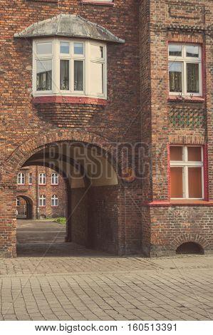 Nikiszowiec - historical part of Katowice and Silesia