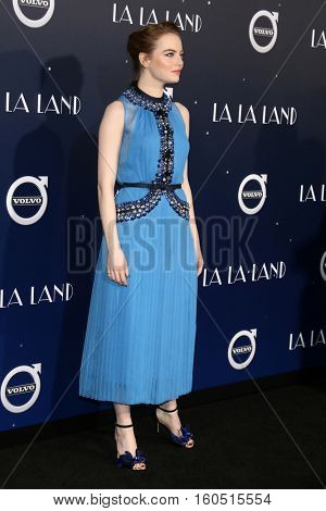 LOS ANGELES - DEC 6:  Emma Stone at the
