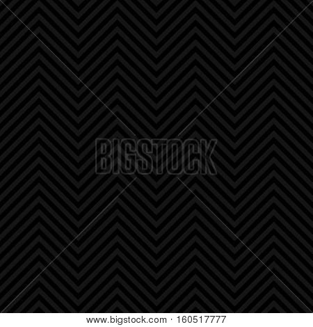 Chevron Pattern. Black Neutral Seamless Pattern for Modern Design in Flat Style. Tileable Geometric Vector Background.