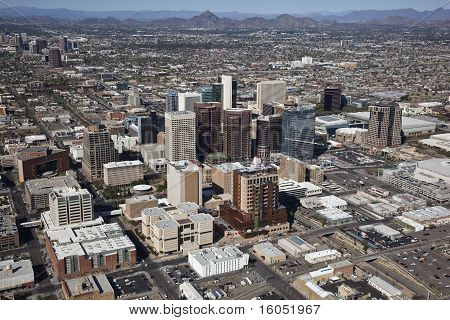 Sunny Skies over Phoenix, AZ