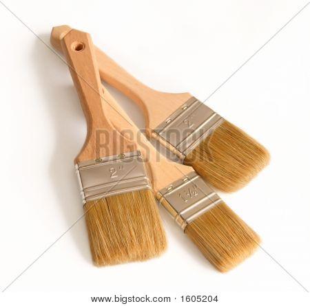 Three Paint Brush