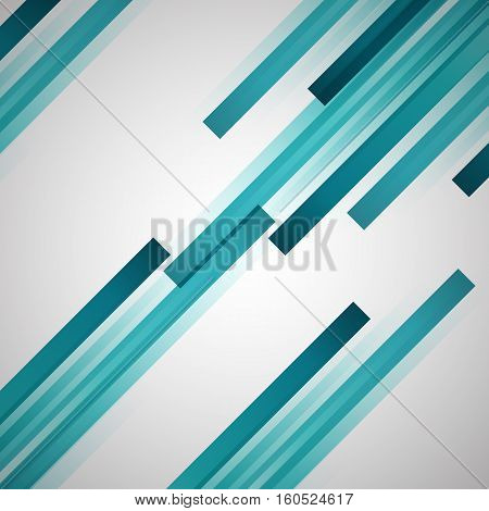 Abstract background with green straight lines, stock vector