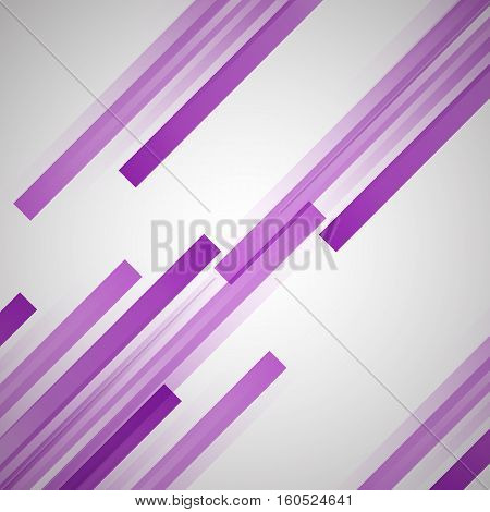 Abstract background with purple straight lines, stock vector