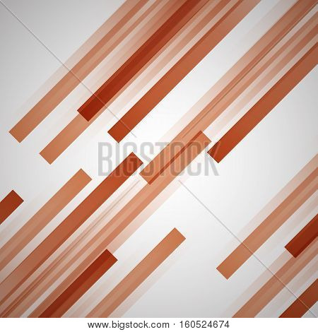 Abstract background with orange straight lines, stock vector