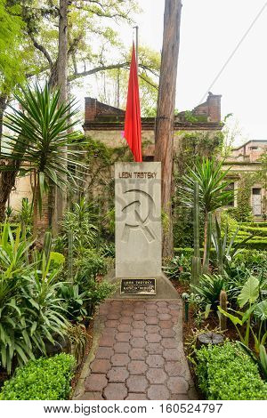 Leon Trotsky Tomb - Mexico City
