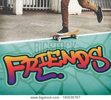 Friends Community Relationship Togetherness Concept