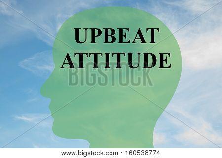 Upbeat Attitude Concept