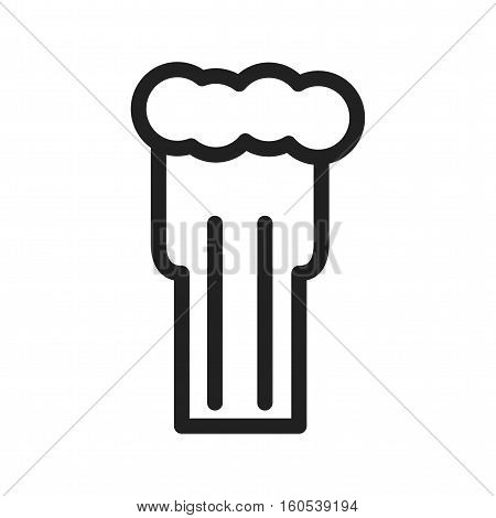 Beer, pint, glass icon vector image. Can also be used for oktoberfest. Suitable for mobile apps, web apps and print media.