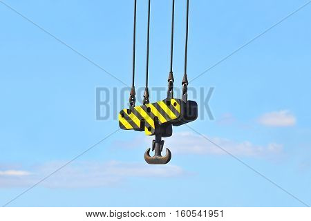Crane Winch With Hook
