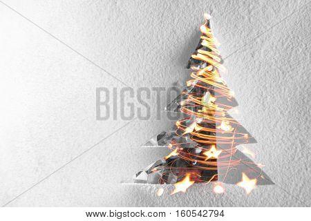 Christmas Paper Tree Decoration