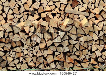 Fresh Firewood Texture