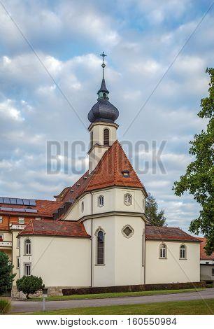 Abbey church in former monastery Kloster Maria Hilf Buhl Germany