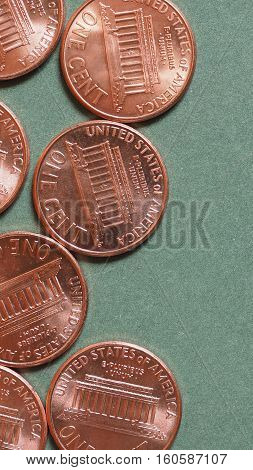 Dollar (usd) Coin, Currency Of United States (usa) - Vertical