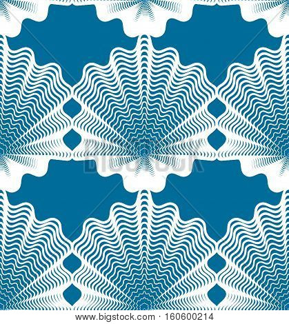 Vector stripy endless pattern art continuous geometric background with graphic lines.