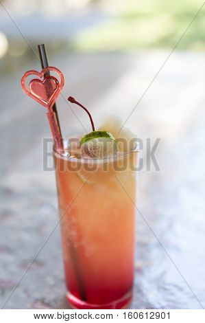 Fresh Drink Punch Mocktail - Party Refreshment Celebration Fun Concept