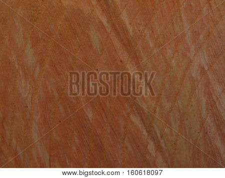 Red wood, freshly cut with chainsaw, abstract background