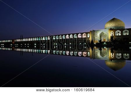 This here is Naqsh-e Jahan Square (Imam Square) .Esfahan Iran