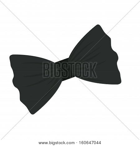 Bowtie icon. Cloth fashion style wear and shop theme. Isolated design. Vector illustration