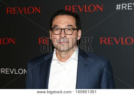 NEW YORK-DEC 01: Revlon CEO Fabian Garcia attends Revlon's 2nd Annual Love Is On Million Dollar Challenge Finale Party at The Glasshouses on December 1, 2016 in New York City.