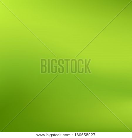 Vector Green Blurred Gradient Style Background. Abstract Smooth Colorful Illustration, Social Media