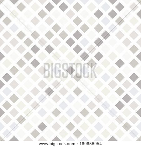 Seamless Pattern In Shades Of Gray And Beige.