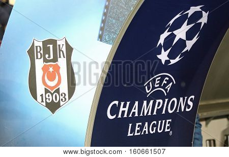 Uefa Champions League Game Fc Dynamo Kyiv V Besiktas