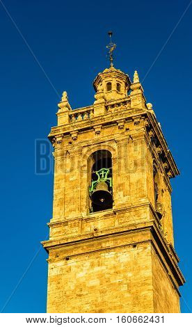 Iglesia de los Santos Juanes, a Church in Valencia - Spain