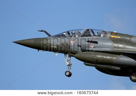 French Military Mirage 2000 Fighter Jet